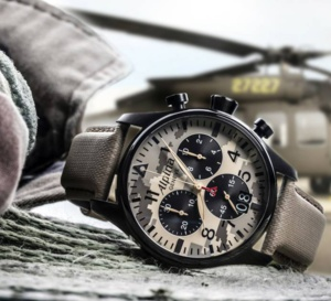 Startimer Pilot Chronographe Grande Date camo