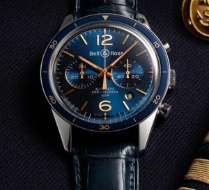 Bell&Ross Vintage BR Aéronavale : l'uniforme fait la montre