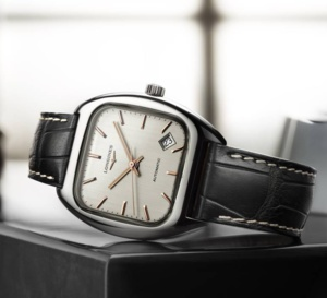 The Longines Heritage 1969 : confortable coussin
