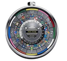 Louis Vuitton : pendulette Escale Time Zone