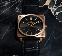 Bell & Ross BRS Rose Gold : la vie en rose