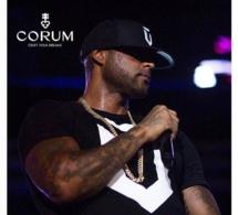 Booba : nouvel ami de la marque Corum