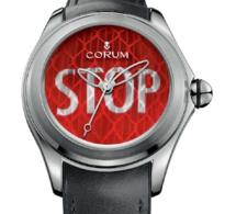 Corum Bubble Stop : une montre qui réfléchit bien...