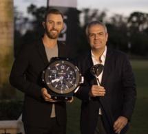 Le golfeur Dustin Johnson devient ambassadeur Hublot