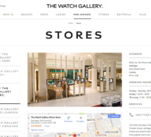 Londres : Bucherer vient d'acquérir The Watch Gallery