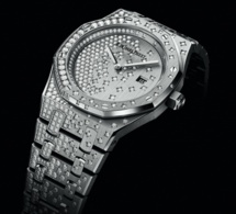 Audemars Piguet Royal Oak : quartz et diamants