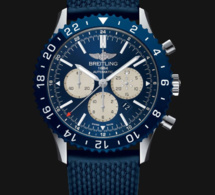 Breitling Chronoliner manuf' : du bleu pour la version boutique