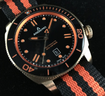 Anonimo Nautilo : du orange et du bronze pour Kronometry 1999