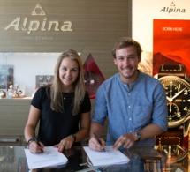 Charlotte Chable et Luca Aerni : les deux nouveaux ambassadeurs Alpina