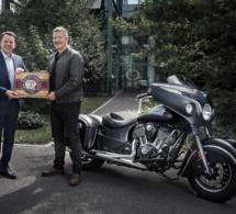 Baume & Mercier partenaire d'Indian Motorcycle
