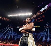 Hublot sur le short de Floyd Mayweather pour son combat contre Conor McGregor