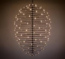 """MAD Gallery accueille Nebula Hive, le luminaire """"céleste"""" de l'artiste cinétique Ivan Black"""