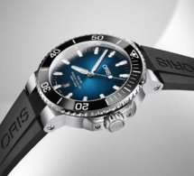 Oris Clipperton Limited Edition : cadran bleu lagon
