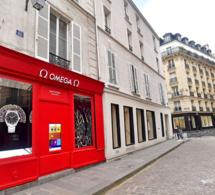 Omega : un pop-up store dans le Marais entièrement dédié au bracelet Nato