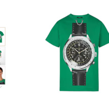 """Louis Vuitton : un t-shirt """"Watch oversized"""""""