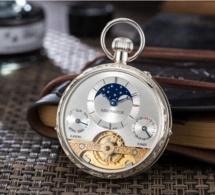 Aerowatch montre de poche Lépine Hebdomas