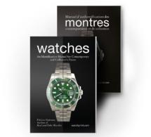 Manuel d'authentification des montres contemporaines et de collection : dédicace de Fabrice Guéroux chez ABP