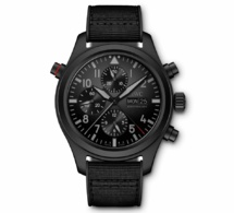 IWC Montre d'Aviateur Double Chronographe TOP GUN Ceratanium