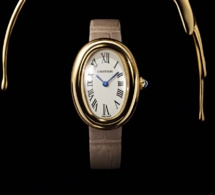 Cartier : le grand retour de la Baignoire en or jaune