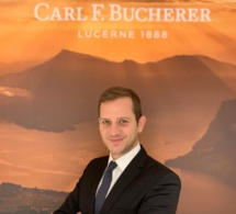 Portrait horloger de Dominique Salvatore, directeur du magasin Bucherer Paris
