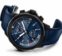 Une IWC Aquatimer chrono flyback pour la 13ème édition Laureus