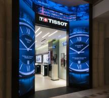 Tissot : plus de 360 boutiques exclusives ouvertes en dix ans !