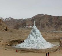 Sonam Wangchuk, Lauréat Rolex Awards : des pyramides de glace dans le désert