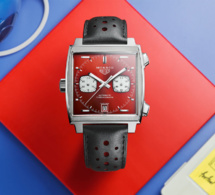 TAG Heuer Monaco : rouge passion