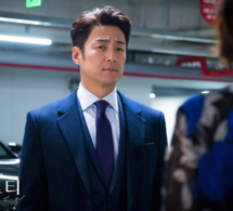 Misty : Ji Jin-hee porte un chrono Tiffany CT60 en or rose