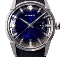 Minase Divido blue dial
