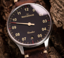 "MeisterSinger Circularis automatique : Old radium en mode ""vintage"""