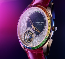 Parmigiani Fleurier Double Rainbow Flying Tourbillon : de l'exceptionnel arc-en-ciel
