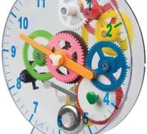 Une horloge à fabriquer avec vos enfants pendant le confinement