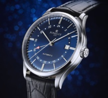Perrelet : une GMT cadran bleu dans sa collection Weekend