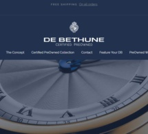 "Lancement de ""De Bethune Certifed Pre-Owned watches"""