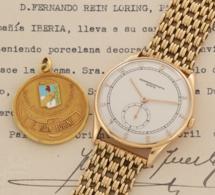 Vacheron Constantin Ref. 4195, 18K or jaune. D'Evita Peron à Fernando Rein Loring