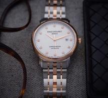 Emile Chouriet Lac Léman Classic Chronometer index diamants
