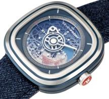 SevenFriday T1/01 Cocorico : la montre idéale pour un 14 juillet tricolore