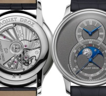 Jaquet Droz Grande Seconde Moon : une nouvelle version avec cadran anthracite