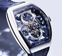 Franck Muller Vanguard Yachting Anchor Skeleton : esprit nautique