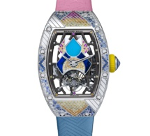 Richard Mille RM 71-02 Tourbillon automatique Talisman : disco-time