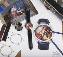 Vacheron Constantin : une montre personnalisée et unique Les Cabinotiers avec une oeuvre du Louvre