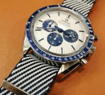 "Omega Speedmaster Snoopy et le Nato Premium Kronokeeper : le ""match"" parfait"