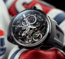 Angelus U30 Black Titanium : sportif et très horloger à la fois