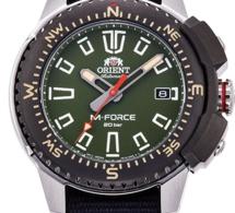 Orient M-Force : montre de baroudeur