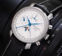 Emile Chouriet Lac Léman Calendar Chronograph : bel ouvrage dans l'entrée de gamme