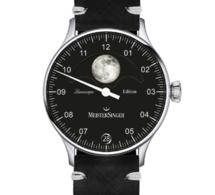 Meistersinger Lunascope Spéciale Emile Léon : rare édition limitée à 8 exemplaires avec Lune luminescente