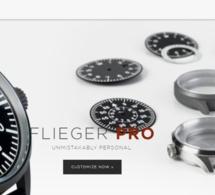 Laco propose des montres d'aviateurs personnalisables en ligne
