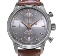 Alpiner Automatique Chronographe : esprit vintage pour montre contemporaine