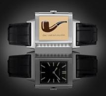 Reverso Hommage à Magritte : ceci n'est pas une pipe... c'est une montre !